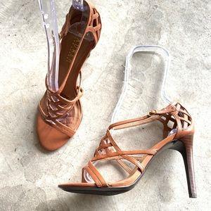 Lauren Ralph Lauren Ankle Strap Stiletto Heels